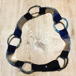 Vintage Black Leather belt.